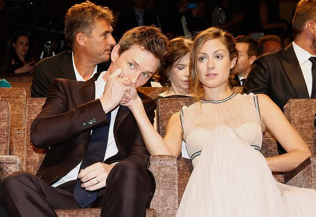 Actor Eddie Redmayne and Hannah Bagshawe are expecting their first child together. (Photo by Tristan Fewings/Getty Images)