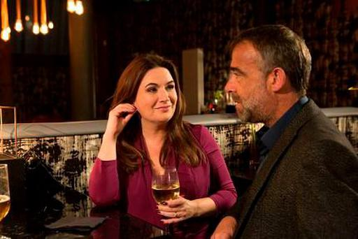Anna and Kevin in Coronation Street