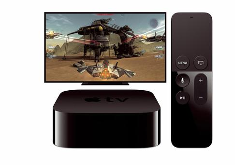 The fourth-generation Apple TV has big potential for gaming