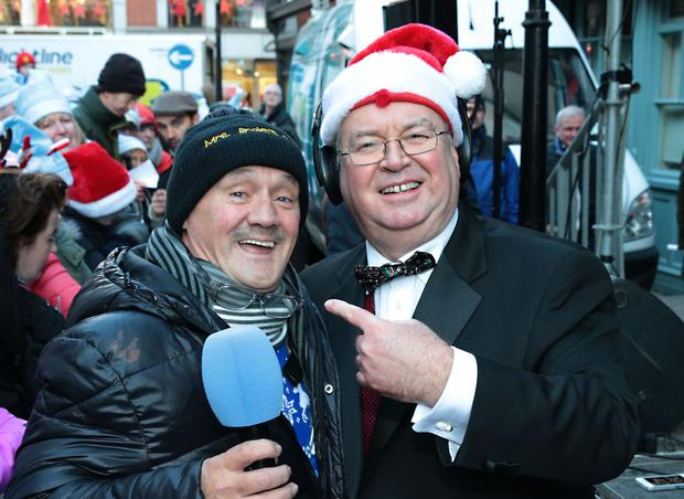 Brendan O Carroll called into RTÉ's Liveline to tell host Joe Duffy he would cover the funeral costs Credit: Brian McEvoy