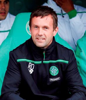 Celtic boss Ronny Deila. Photo: Danny Lawson/PA Wire.