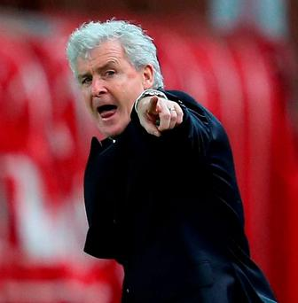 Stoke City manager Mark Hughes. Photo: Jan Kruger/Getty Images