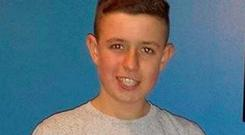 Warren Kenny (16) tragically lost his life after the scrambler bike he was riding collided with another vehicle