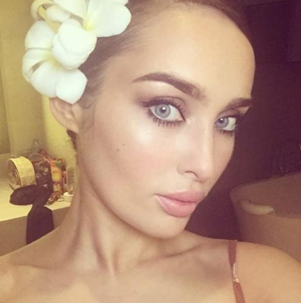 Model Roz Purcell shared this picture on holiday in Thailand. Picture: Instagram