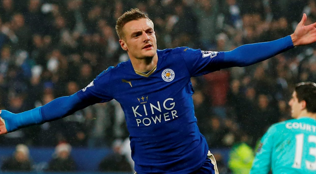 Leicester's Jamie Vardy is showing the hallmarks of a great striker Photo: Reuters / Andrew Yates