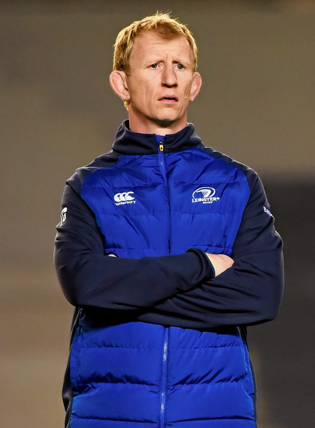 Leo Cullen's vast experience as a player at the top end of the game will be useful, but he is leading a group whose mileage on the coaching road is the stuff of 'once around the block' Photo: Stephen McCarthy / SPORTSFILE