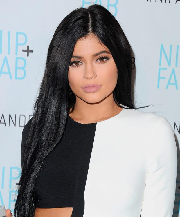 LIP SERVICE: The youngest member of the Jenner/Kardashian clan Kylie Jenner admitted to using lip fillers aged 17. Photo: Jon Kopaloff/FilmMagic