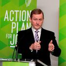 WAR FOOTING: Enda Kenny. Photo: Tom Burke
