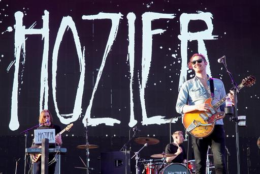 Musician Andrew Hozier-Byrne of Hozier performs onstage during day 2 of the 2015 Coachella Valley Music And Arts Festival (Weekend 2) at The Empire Polo Club on April 18, 2015 in Indio, California. (Photo by Karl Walter/Getty Images for Coachella)