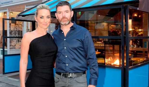 Kathryn Thomas and boyfriend Padraig McLaughlin