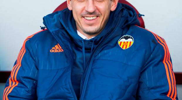 When Gary Neville took the Valencia job his eye was immediately drawn to this week's double assignment against Villarreal and Real Madrid Photo: Juan Manuel Serrano Arce / Getty Images