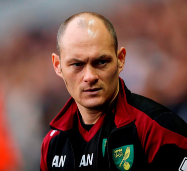 Alex Neil: 'There are games in and about you that you've got to win, so I would probably call it a must-win, even though I don't think anything's going to be determined by this particular game' Photo: Scott Heavey/PA Wire
