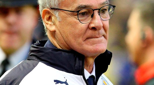 Leicester boss Claudio Ranieri has told his players to enjoy playing their own brand of football without being constrained by their position at the top of the Premier League Photo: LINDSEY PARNABY / AFP / Getty Images