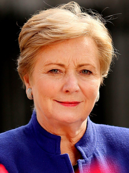 Minister for Justice and Equality Frances Fitzgerald pictured outside Dail Eireann. Picture; GERRY MOONEY. 17/9/15