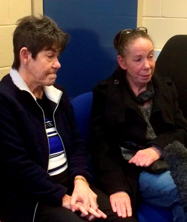 Undated handout photo issued by Gwent Police of the terminally ill mother of missing 24-year-old Kyle Vaughan, Mary Vaughan (centre), 53, who has issued a desparate plea for information on her son's whereabouts, as December 28 marks the third anniversary of the popular rock music fan's disappearance. Gwent Police/PA Wire