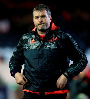 Munster head coach Anthony Foley (Photo: PA)