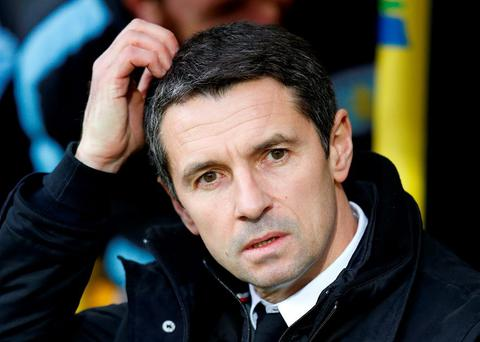 Aston Villa manager Remi Garde. Photo: Paul Childs / Action Images via Reuters