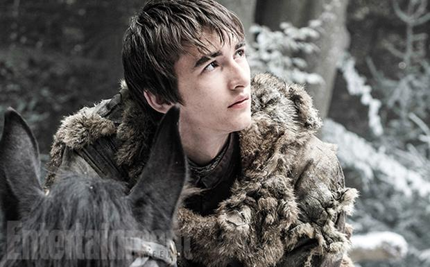 Bran Stark in the season 6 teaser of Game of Thrones. Picture: Helen Sloan/HBO via Entertainment Weekly