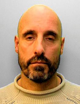 Convicted murderer Derek Passmore, who is back behind bars after walking out of an open prison after spending more than two-and-a-half years on the run. Credit: Sussex Police/PA Wire