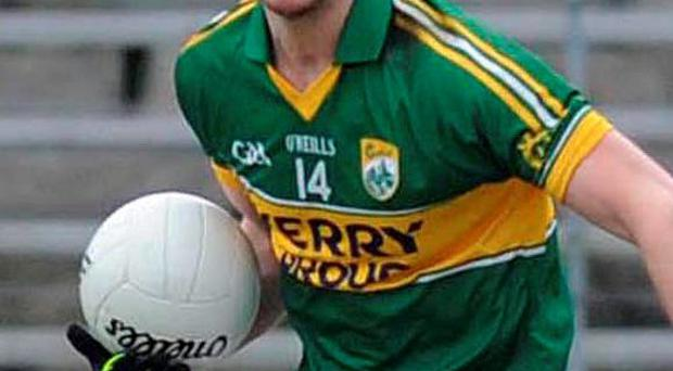 Patrick Curtin playing for Kerry in 2013 (Photo: Don MacMonagle)