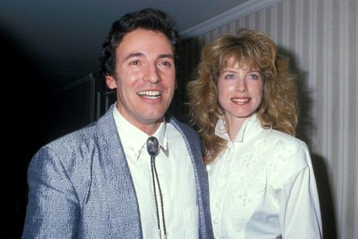 Bruce Springsteen and Julianne Phillips. Photo: Ron Galella/WireImage