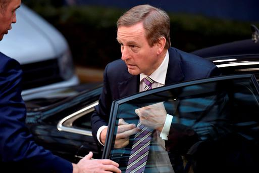 Taoiseach Enda Kenny. Photo: Reuters/Eric Vidal