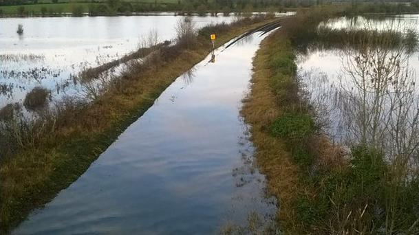 Irish Rail is to use high-tech drones to map the railway network for damage and coordinate responses to major incidents including flooding. Photo credit: Irish Rail