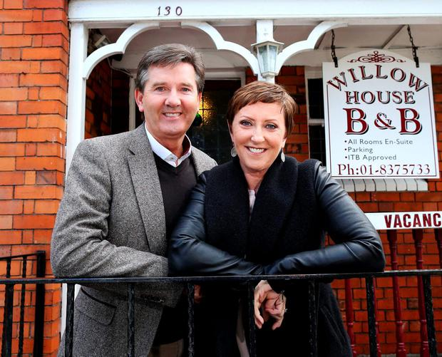 Daniel and Majella O'Donnell. Photo: Maxwells