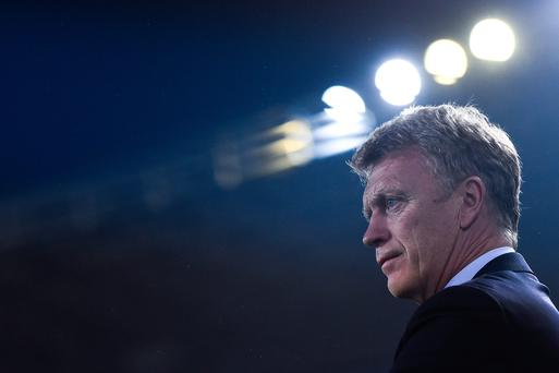 Under Moyes in 2013-14, United had 34 points at the halfway stage, compared to the 30 they have now, and also reached the semi-finals of the Leauge Cup and the last eight of the Champions League. GETTY
