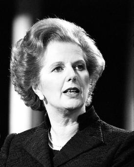 Prime Minister Margaret Thatcher. PA Wire