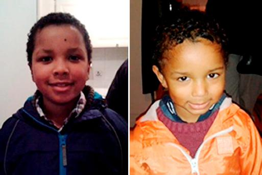 Zachary,8, and four year old Amon (right) from Bexley who have gone missing with their mother, Sian Blake from from Erith, Kent. Photo: Metropolitan Police/PA Wire