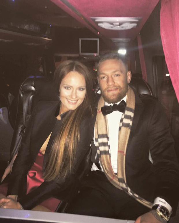 Conor McGregor celebrates New Year's Eve in Dublin Photo credit: @TheNotoriousMMA