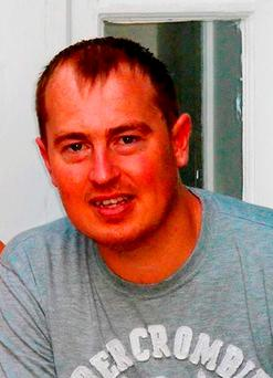 Simon Lewis died when the Daihatsu Sirion that he was driving was in collision with a blue Peugeot 307 as it travelled along Lamby Way in Cardiff on New Year's Eve Credit: South Wales Police/PA Wire