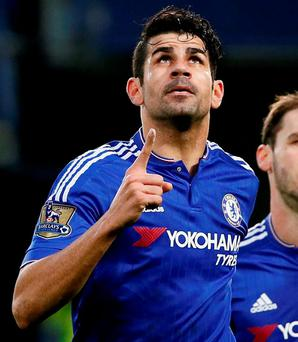 Guus Hiddink is relying heavily on Diego Costa. Photo: Stefan Wermuth / Reuters Livepic