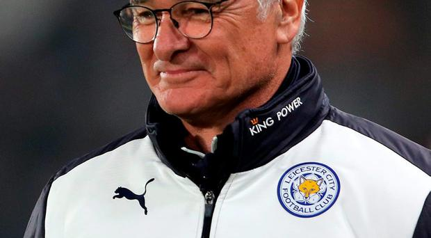 Leicester City manager Claudio Ranieri. Photo: Richard Sellers/PA Wire.