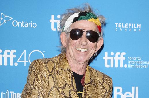 Keith Richards attends the