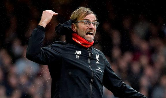 Liverpool manager Jurgen Klopp is not a happy man Reuters / Toby Melville