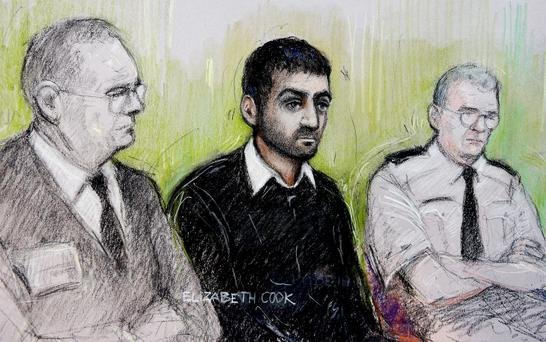 Former law student Incedal, 27, was acquitted of planning either a Mumbai-style attack or the assassination of Tony Blair following the retrial at the Old Bailey in April 2015. Photo: Elizabeth Cook/PA Wire