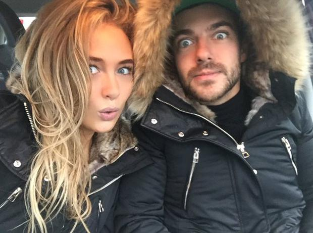 Alex Mytton and Nicola Hughes spent New Year's in Co Mayo despite appearing to break up in a recent episode. Photo: Twitter: @NicolaMHughes