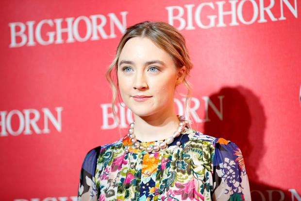 International Star Award recipient actress Saoirse Ronan poses at the 27th Annual Palm Springs International Film Festival Awards Gala in Palm Springs, California, January 2, 2016. Reuters/Danny Moloshok
