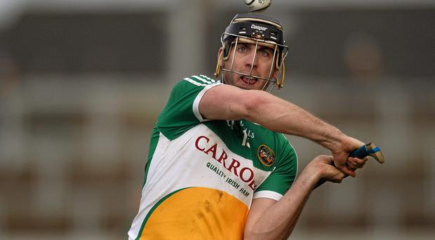 Offaly's Shane Dooley was sharp and in free-scoring form. Photo: Sportsfile