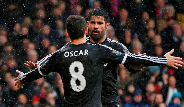 Oscar cand Diego Costa. Photo: Reuters / John Sibley