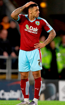 Burnley's Andre Gray is currently top scorer in the Championship Photo: Richard Sellers/PA Wire