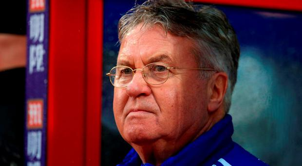Chelsea interim manager Guus Hiddink has been praised by John Terry. Photo credit: John Walton/PA Wire