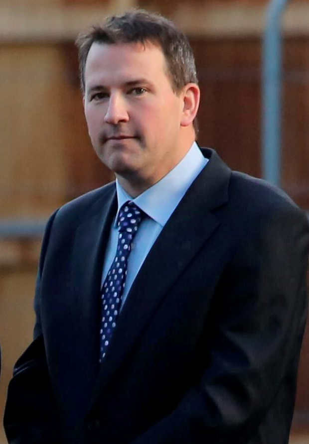 Graham Dwyer4...19/12/2013 Graham Dwyer pictured leaving the Four Courts yesterday(Thurs) after his bail application was refused following a Supreme Court hearing.Pic: Collins Courts