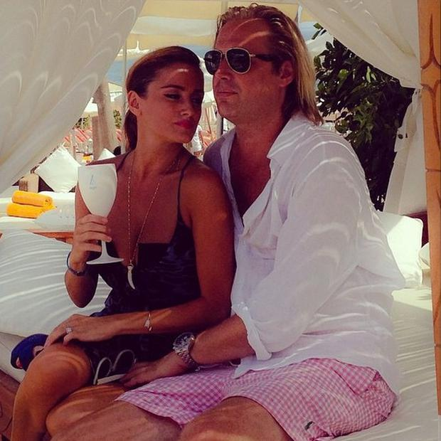 Virginia Macari and fiance Kaste Dahl live in Marbella