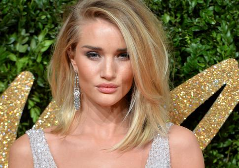 Rosie Huntington-Whiteley is famous for her glowing skin