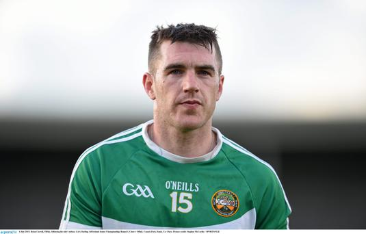 Brian Carroll is set to call time on his Offaly career