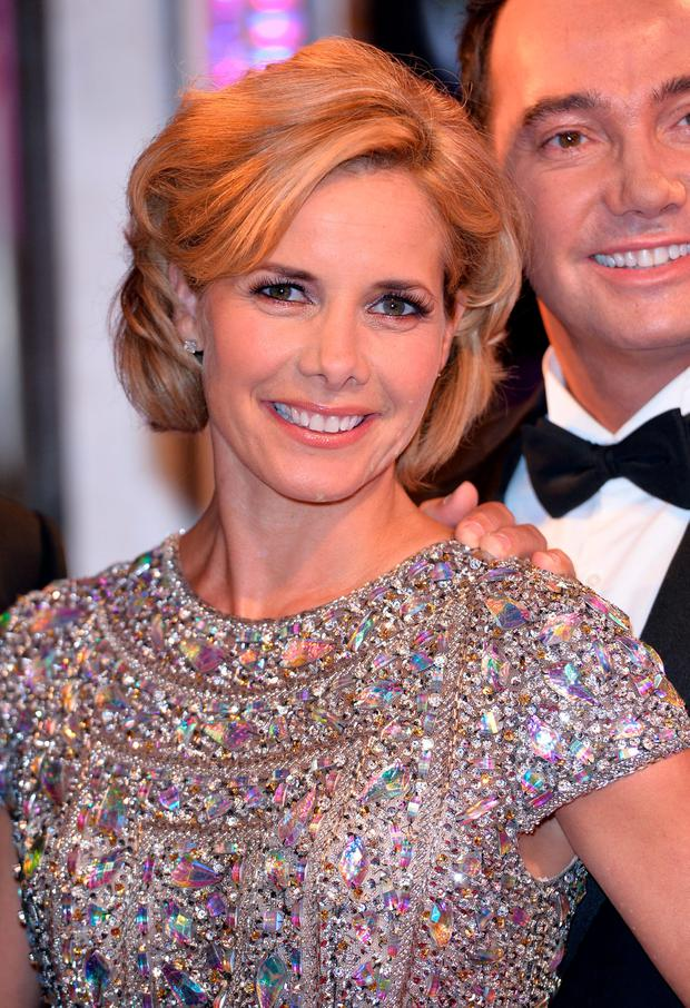Darcey Bussell attends the red carpet launch for Strictly Come Dancing 2014 at Elstree Studios on September 2, 2014