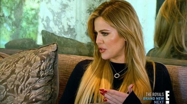 Khloe Kardashian on Keeping Up With The Kardashians/E!